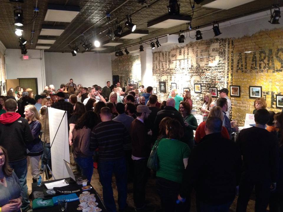 AA Creative Corridor (formerly Art Alley) with a full-house in February!