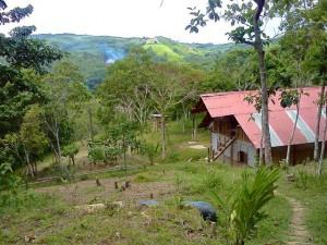 View from Sachaqa Centro de Arte of San Roque de Cumbaza.