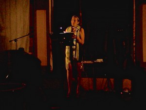 22 Apr 2015, Chicago. Reading a Spanish-composed poem for the first time Stateside!